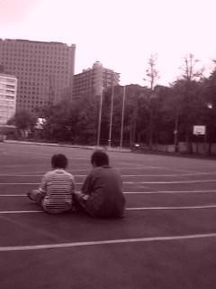 今日は麻布幼稚園の運動会に遊びにきました